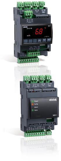 Dixell XEV - řídící jednotky elektronických expanzních ventilů